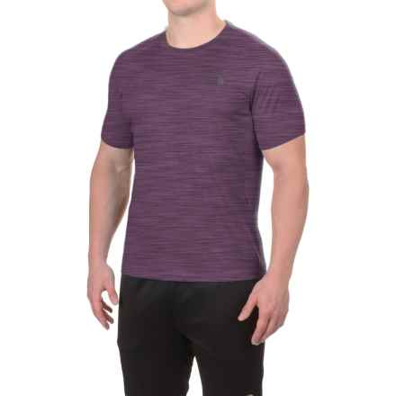 The North Face Ambition Shirt - UPF 30+, Short Sleeve (For Men) in Knight Purple Heather/Knight Purple - Closeouts