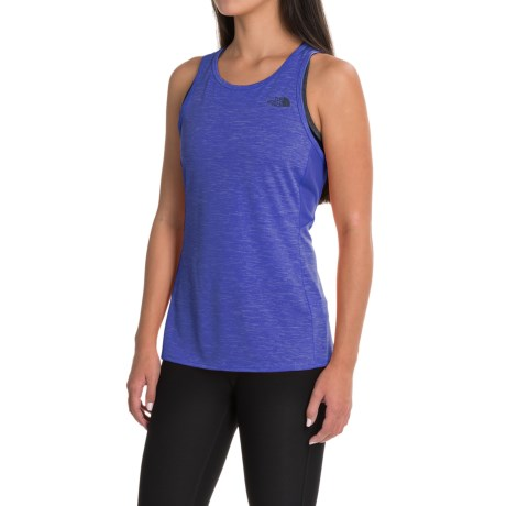 The North Face Ambition Tank Top (For Women) in Amparo Blue Heather