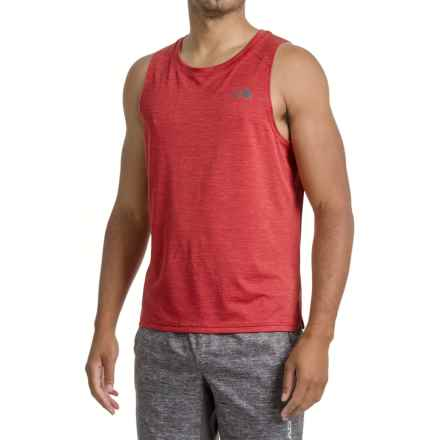 The North Face Ambition Tank Top - UPF 30 (For Men) in Cardinal Red - Closeouts