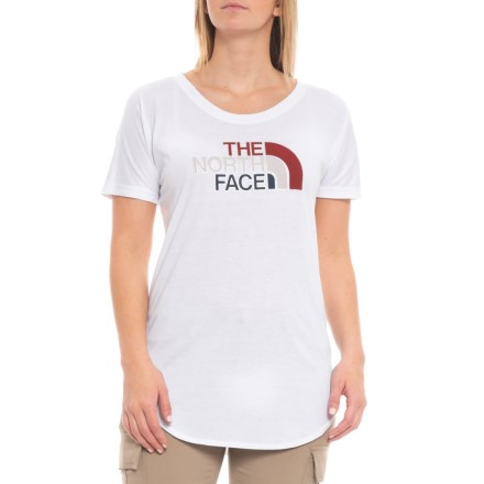 6074c309 The North Face Americana Track T-Shirt - Short Sleeve (For Women) in