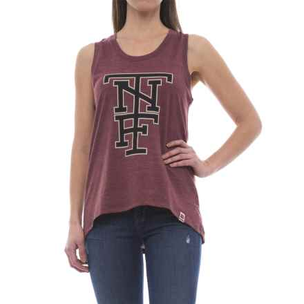 The North Face Americana Tri-Blend Tank Top (For Women) in Barolo Red Heather - Closeouts