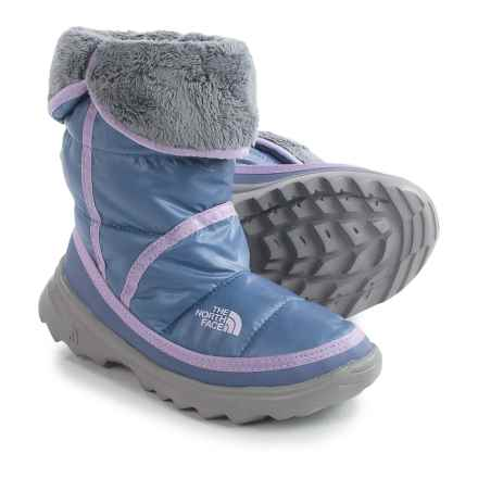 The North Face Amore Boots - Insulated (For Little and Big Girls) in Coastal Fjord Blue/Lupine - Closeouts