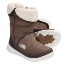 The North Face Amore Winter Boots - Insulated (For Women) in Utility Brown Waxed/Demitasse Brown - Closeouts