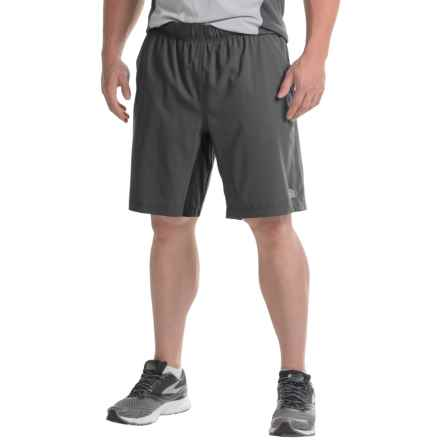 The North Face Ampere Dual Shorts - Built-In Boxer Briefs (For Men) in Asphalt Grey/Mid Grey - Closeouts