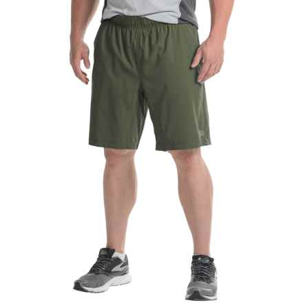 The North Face Ampere Dual Shorts - Built-In Boxer Briefs (For Men) in Climbing Ivy Green - Closeouts