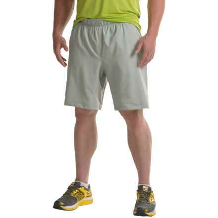 The North Face Ampere Dual Shorts - Built-In Boxer Briefs (For Men) in Wrought Iron - Closeouts