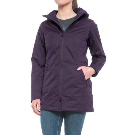 The North Face Ancha Parka - Waterproof, Insulated (For Women) in Dark Eggplant Purple - Closeouts