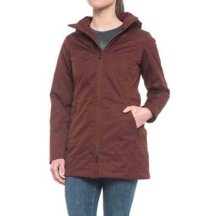 The North Face Ancha Parka - Waterproof, Insulated (For Women) in Sequoia Red - Closeouts