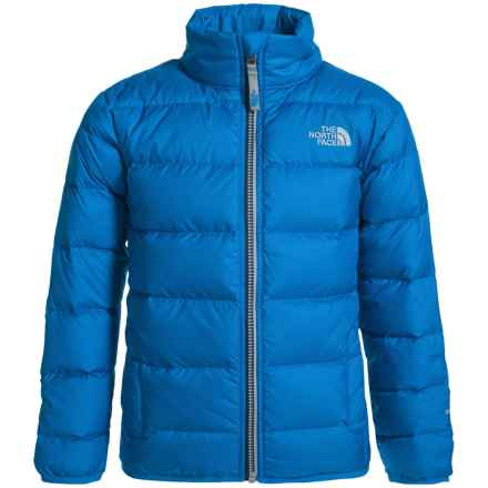 The North Face Andes Down Jacket - 550 Fill Power (For Little and Big Boys) in Jake Blue - Closeouts