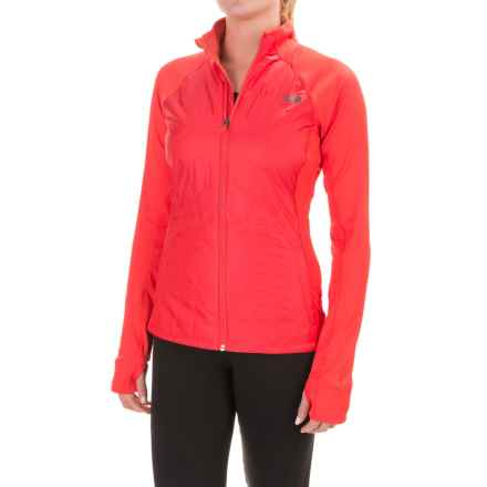 The North Face Animagi Jacket - Insulated (For Women) in Melon Red - Closeouts