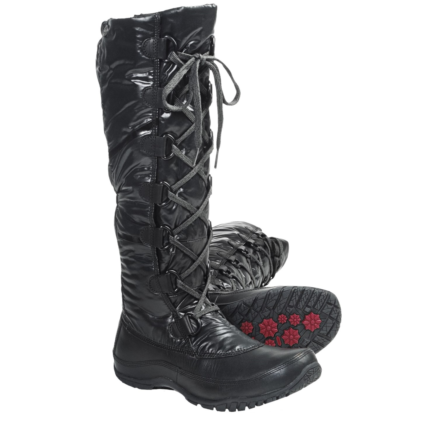 the purna lace winter boots