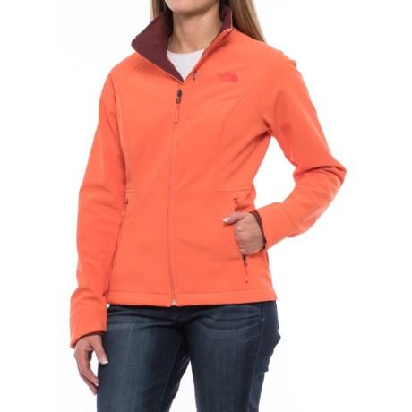 The North Face Apex Bionic 2 Jacket (For Women) in Nasturtium Orange