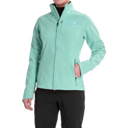 The North Face Apex Bionic 2 Soft Shell Jacket (For Women) in Trellis Green - Closeouts
