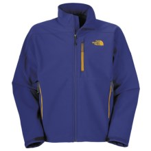 The North Face Apex Bionic Jacket - Soft Shell (For Men) in Bolt Blue - Closeouts