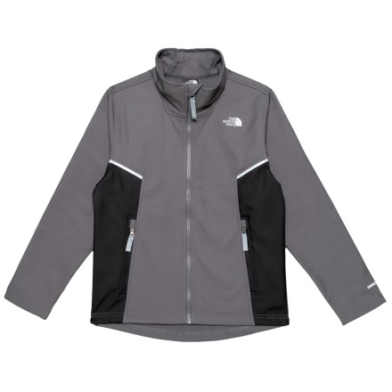 5a54302c0f The North Face Apex Bionic Soft Shell Jacket (For Boys) in Graphite Grey -