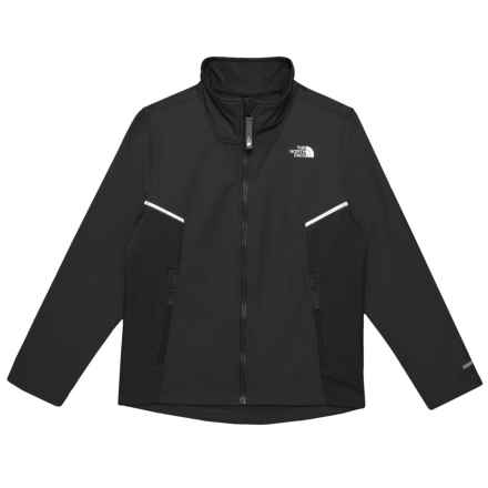 The North Face Apex Bionic Soft Shell Jacket (For Boys) in Tnf Black/Tnf Black - Closeouts