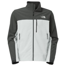 The North Face Apex Bionic Soft Shell Jacket (For Men) in High Rise Grey/Asphalt Grey - Closeouts