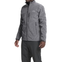 The North Face Apex Bionic Soft Shell Jacket (For Men) in High Rise Grey Heather/High Rise Grey Heather - Closeouts