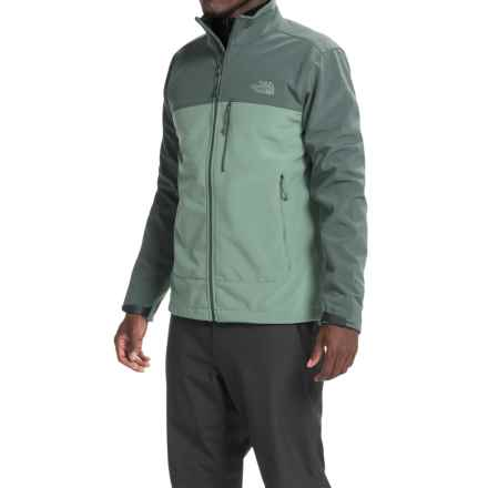 The North Face Apex Bionic Soft Shell Jacket (For Men) in Laurel Wreath Green/Spruce Green - Closeouts