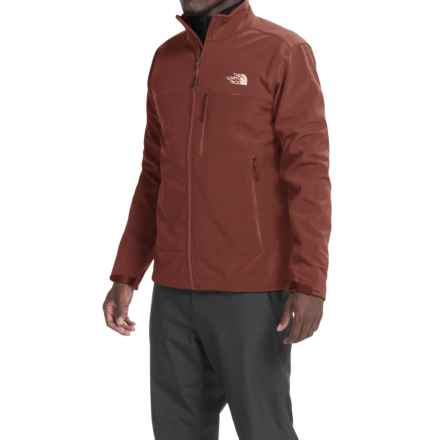 The North Face Apex Bionic Soft Shell Jacket (For Men) in Sequoia Red/Sequoia Red - Closeouts
