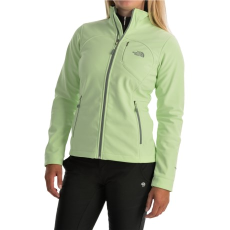 The North Face Women's Apex Bionic Soft Shell Jacket (Budding Green)