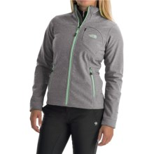 The North Face Apex Bionic Soft Shell Jacket (For Women) in Tnf Black Heather - Closeouts