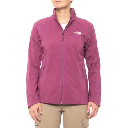 The North Face Apex Byder Soft Shell Jacket (For Women) in Amaranth Purple - Closeouts