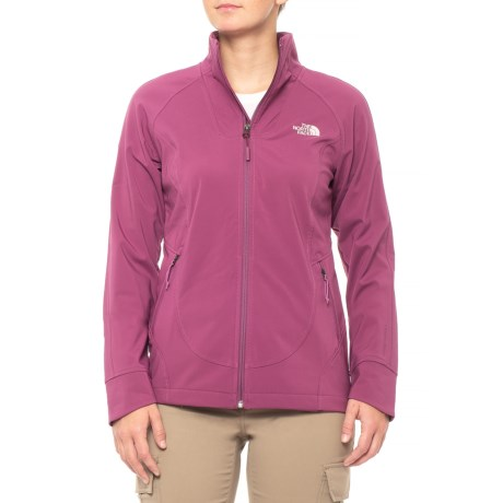 The North Face Apex Byder Soft Shell Jacket (For Women) in Amaranth Purple