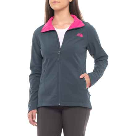 The North Face Apex Byder Soft Shell Jacket (For Women) in Ink Blue - Closeouts