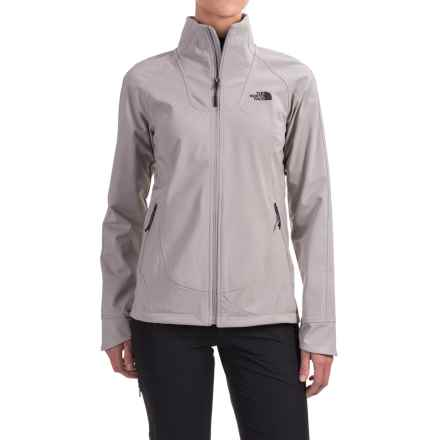 The North Face Apex Byder Soft Shell Jacket (For Women) in Metallic Silver - Closeouts