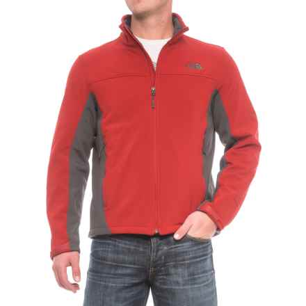 The North Face Apex Chromium Jacket (For Men) in Cardinal Red/Asphalt Grey - Closeouts