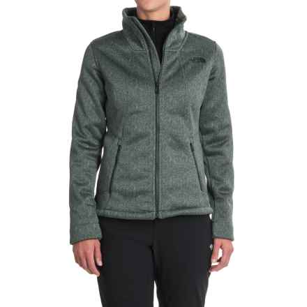 The North Face Apex Chromium Thermal Jacket (For Women) in Balsam Green/Darkest Spruce Herringbone Print - Closeouts