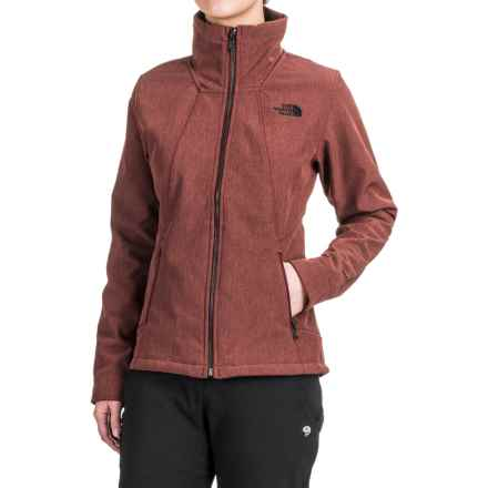 The North Face Apex Chromium Thermal Jacket (For Women) in Deep Garnet Red Heather - Closeouts