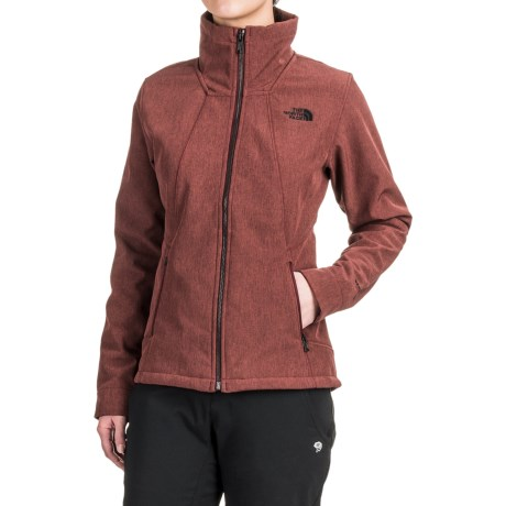 The North Face Apex Chromium Thermal Jacket (For Women) in Deep Garnet Red Heather