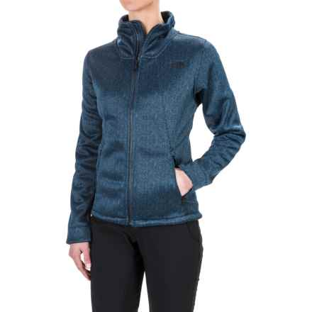 The North Face Apex Chromium Thermal Jacket (For Women) in Shady Blue/Dark Shady Blue Herringbone Print - Closeouts