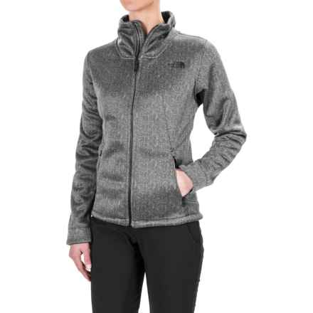The North Face Apex Chromium Thermal Jacket (For Women) in Tnf White/Tnf Black Herringbone Print - Closeouts