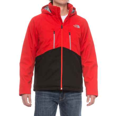 The North Face Apex Elevation PrimaLoft® Jacket - Insulated (For Men) in Centennial Red/Tnf Black - Closeouts