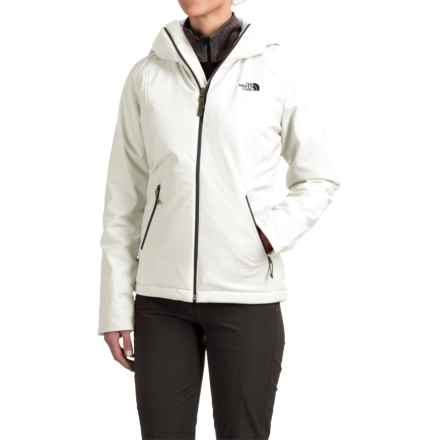 The North Face Apex Elevation Soft Shell Hooded Jacket - Insulated (For Women) in Tnf White - Closeouts
