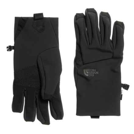 The North Face Apex Etip® Gloves - Insulated, Touchscreen Compatible (For Men) in Tnf Black - Closeouts
