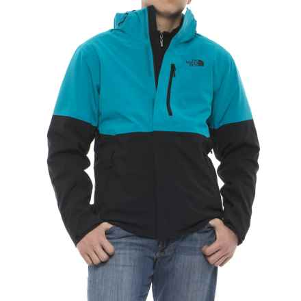 The North Face Apex Flex Gore-Tex® Jacket - Waterproof, Insulated (For Men) in Brilliant Blue/Tnf Black - Closeouts