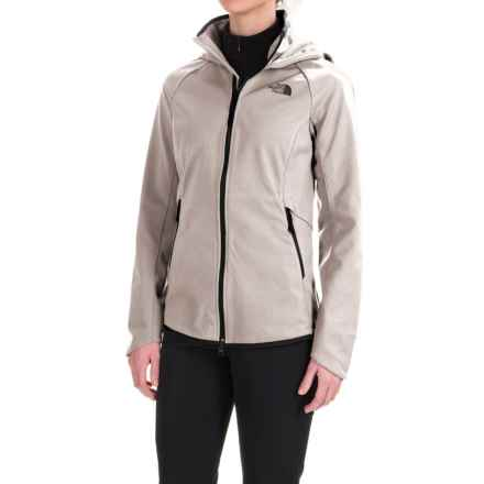 The North Face Apex Lilmore Soft Shell Jacket (For Women) in Lunar Ice Grey Heahter - Closeouts