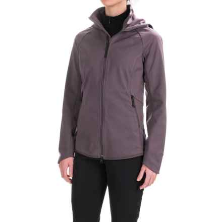 The North Face Apex Lilmore Soft Shell Jacket (For Women) in Rabbit Grey - Closeouts