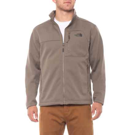 The North Face Apex Risor Soft Shell Jacket (For Men) in Falcon Brown Heaher/Falcon Brown Heaher - Closeouts