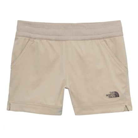 a92ef84d40 The North Face Aphrodite Shorts (For Little and Big Girls) in Crockery  Beige -
