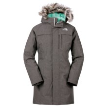 The North Face Arctic Down Parka (For Little and Big Girls) in Graphite Grey Heather - Closeouts
