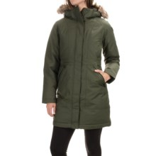 The North Face Arctic Down Parka - Waterproof, 550 Fill Power (For Women) in Forest Night Green - Closeouts