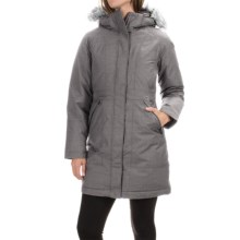 The North Face Arctic Down Parka - Waterproof, 550 Fill Power (For Women) in Graphite Grey Heather - Closeouts