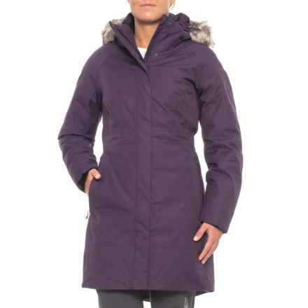 The North Face Arctic II Down Parka - Waterproof (For Women) in Dark Eggplant Purple - Closeouts