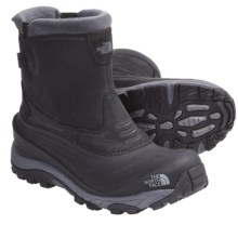 The North Face Arctic Pull-On II Winter Boots - Waterproof, Insulated (For Men) in Black/Dark Shadow Grey - Closeouts