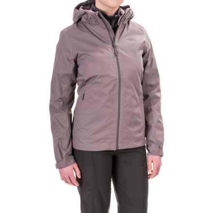 The North Face Arrowood Triclimate® Hooded Jacket - Waterproof, Insulated, 3-in-1 (For Women) in Quail Grey Dobby - Closeouts